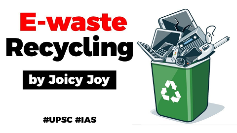 Electronic Waste Recycling in India, Importance of e-waste management