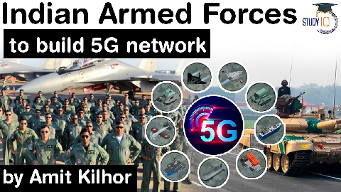 Indian Armed Forces to build 5G Network