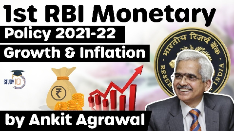 RBI First Bimonthly Monetary Policy 2021-22, Status of Growth and Inflation in Indian Economy