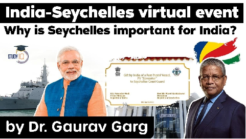 India Seychelles relations – Why is Seychelles important for India?