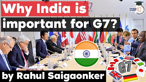 UK invites India to G7 Summit 2021 – Why India is important for G7?