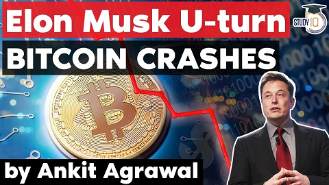 Elon Musk Tesla will not accept cryptocurrency – Bitcoin plunges 17%