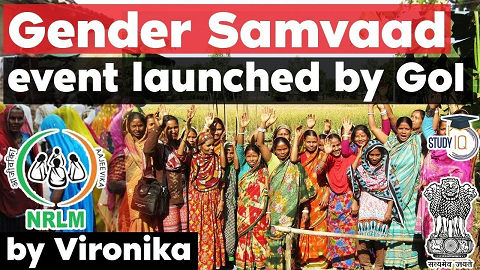 What is Gender Samvaad? Key highlights of gender interventions launched by Centre & State in India