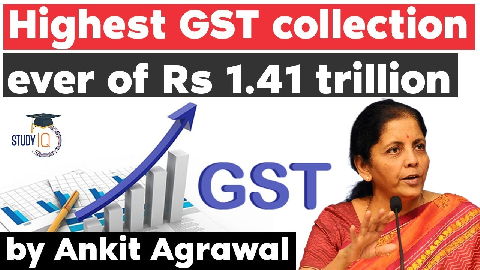 GST collection at all-time high of over Rs 1.41 Lakh Crore