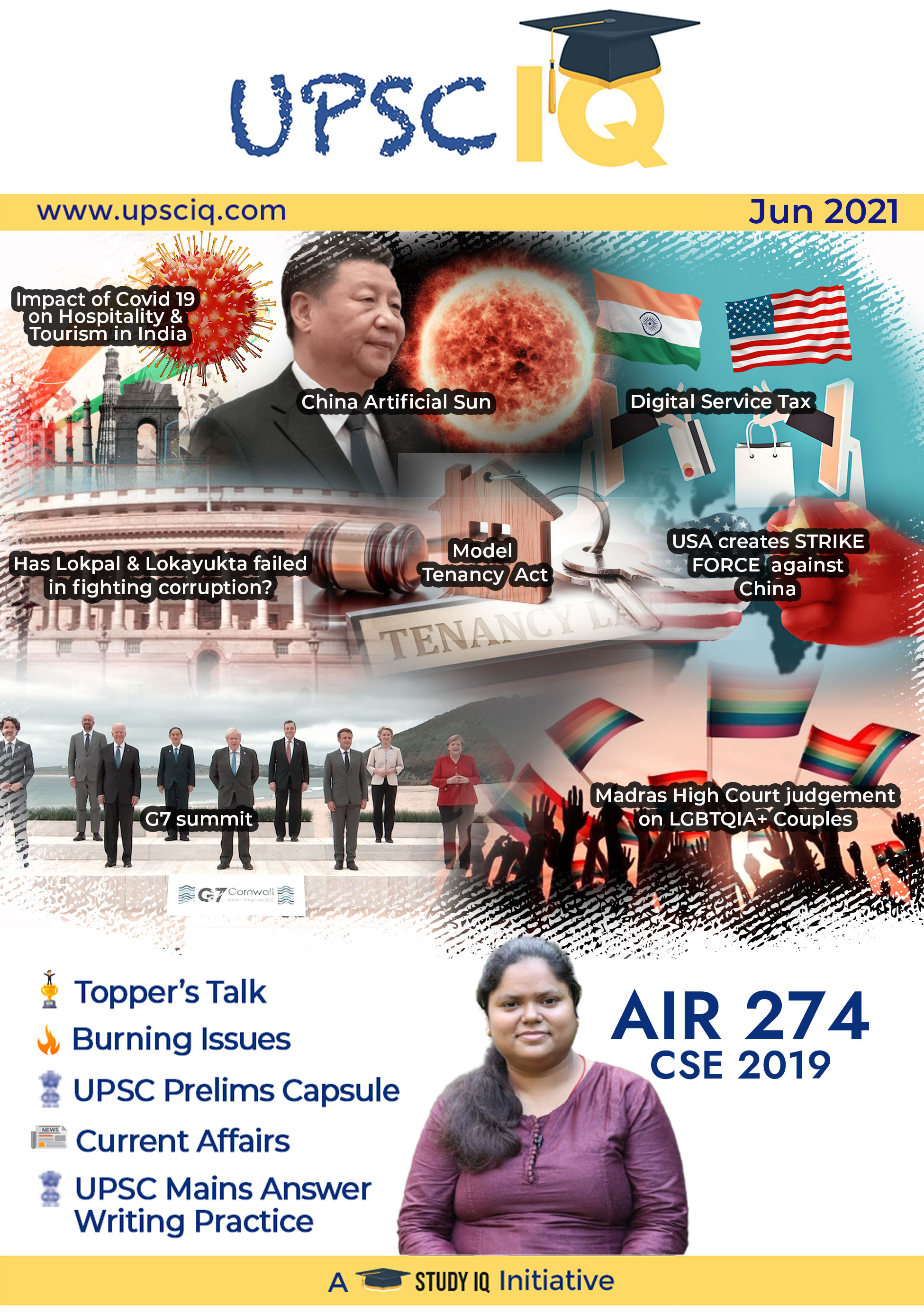 UPSCIQ Magazine